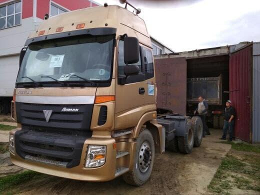 Седельный тягач FOTON (Фотон) НОВЫЙ! BJ4253SMFJB-S4 2011